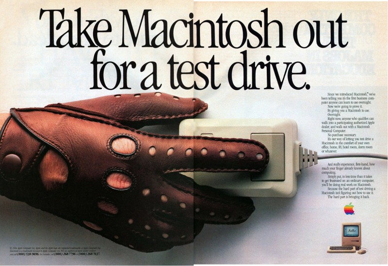 Apple Macintosh Test Drive