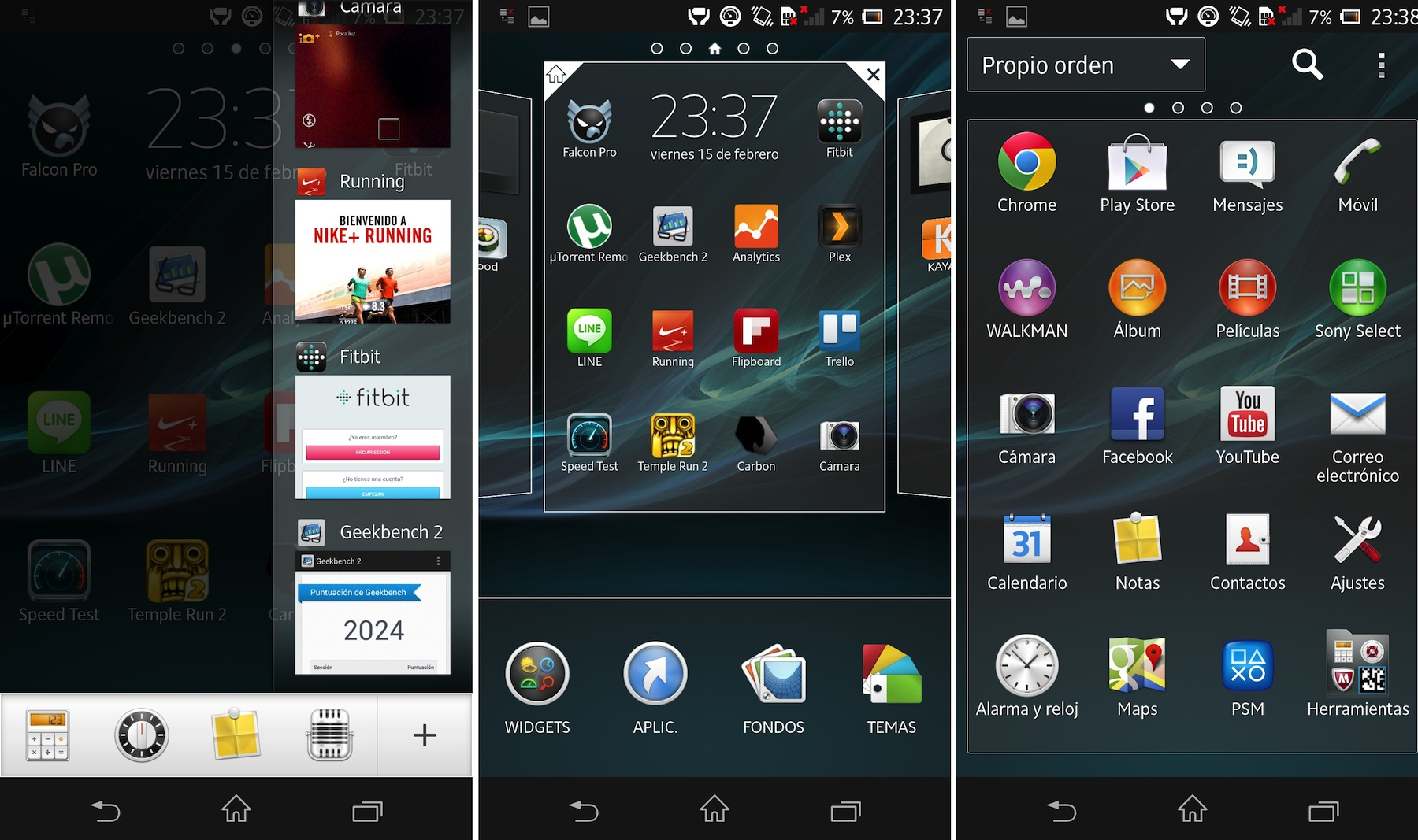 Android 4.1.2 Xperia Z